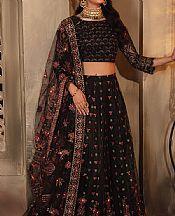 Black Net Suit- Pakistani Chiffon Dress