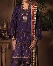 Indigo Linen Suit- Pakistani Winter Dress