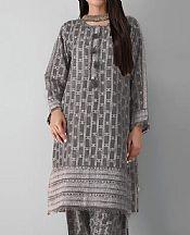 Grey Khaddar Suit (2 Pcs)- Pakistani Winter Clothing