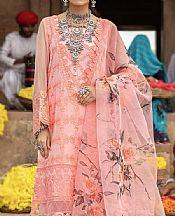 Rose Pink Chiffon Suit- Pakistani Chiffon Dress