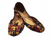 Ladies Khussa- Brown- Pakistani Khussa Shoes