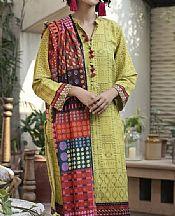 Light Green Khaddar Suit- Pakistani Winter Clothing