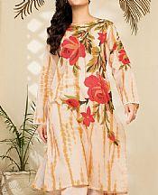 Ivory Cambric Suit (2 Pcs)- Pakistani Winter Clothing