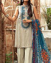 Ash White Linen Suit- Pakistani Winter Clothing