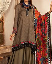 Tan Khaddar Suit- Pakistani Winter Clothing