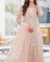 Baby Pink Crinkle Chiffon Suit- Pakistani Chiffon Dress