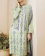 Light Green Lawn Suit- Pakistani Lawn Dress