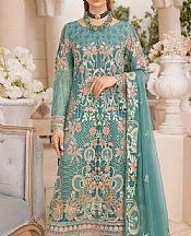 Sea Green Chiffon Suit- Pakistani Chiffon Dress