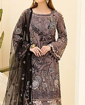 Mauve Chiffon Suit- Pakistani Designer Chiffon Suit