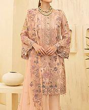 Peach Chiffon Suit- Pakistani Chiffon Dress