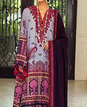 Lavender Linen Suit- Pakistani Winter Clothing