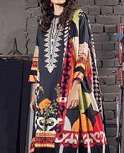 Black Cotton Suit- Pakistani Winter Clothing