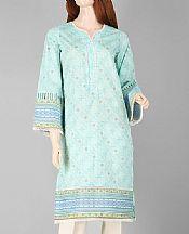 Sky Blue Lawn Kurti- Pakistani Lawn Dress