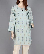 Sky Blue Jacquard Kurti- Pakistani Lawn Dress