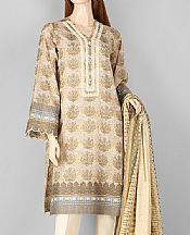 Ivory Lawn Suit- Pakistani Lawn Dress