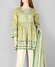 Apple Green Lawn Suit- Pakistani Lawn Dress