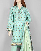Sea Green Lawn Suit- Pakistani Lawn Dress