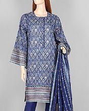 Navy Blue Lawn Suit- Pakistani Lawn Dress