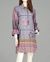 Lavender/Mauve Lawn Kurti- Pakistani Lawn Dress