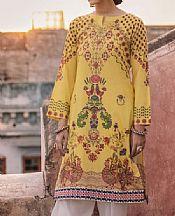 Yellow Lawn Kurti- Pakistani Designer Lawn Dress