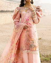 Light Pink Cotton Silk Suit- Pakistani Lawn Dress