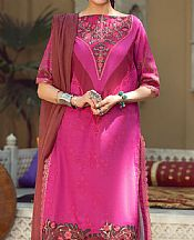 Magenta Lawn Suit- Pakistani Lawn Dress