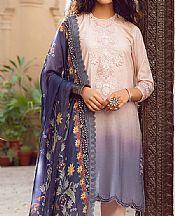 Ivory/Lavender Lawn Suit- Pakistani Lawn Dress