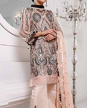 Ivory Chiffon Suit- Pakistani Chiffon Dress