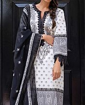 Off-white Jacquard Suit- Pakistani Designer Lawn Dress