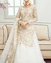 White Net Suit- Pakistani Designer Chiffon Suit