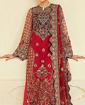 Scarlet Net Suit- Pakistani Designer Chiffon Suit
