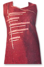Maroon Georgette Suit- Pakistani Casual Clothes