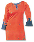Orange Georgette Suit- Pakistani Casual Dress