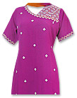 Magenta Georgette Suit- Pakistani Casual Clothes