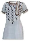 White Chiffon Suit- Pakistani Casual Dress