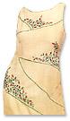Off-white Georgette Trouser Suit- Pakistani Casual Dress