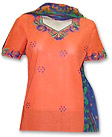 Orange Cotton Suit- Pakistani Casual Dress