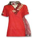 Red Cotton Suit - Pakistani Casual Dress