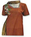 Maroon Cotton Suit - Pakistani Casual Clothes