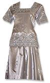 Silver Silk Lehnga