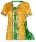 Yellow/Green Mehndi Suit