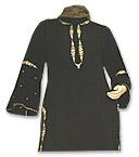 Black Georgette Trouser Suit- Pakistani Casual Clothes