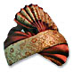 Silk Turban - Brown