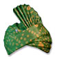 Silk Turban - Green