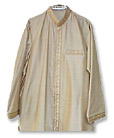 Silk Sherwani Kurta with shalwar
