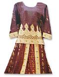 Jamawer/Katan Silk Lehnga - Pakistani Wedding Dress