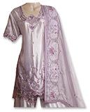 Lilac Satin Silk Sharara- Pakistani Wedding Dress