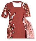 Maroon Wool Pitch Suit- Pakistani Casual Dress