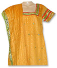 Yellow Jamawer Mehndi Suit
